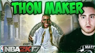 getlinkyoutube.com-MOST OP CENTER IN NBA 2K17!!! THON MAKER IS A GLITCH!!!