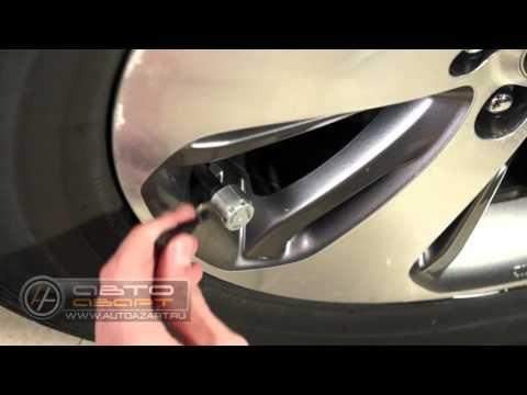 Установка датчиков давления в шинах (TPMS-100/200)