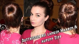 getlinkyoutube.com-Duttkissen bei langen bis sehr langen Haaren & Aufpepp Tipps