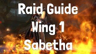 Raid Guide: Wing 1 - Sabetha