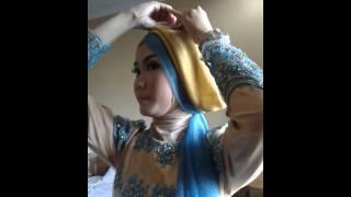 getlinkyoutube.com-Tutorial Hijab Pesta Pernikahan, Wisuda ala Lazera