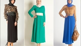 getlinkyoutube.com-فساتين تركي للمحجبات - turkish dresses hijab