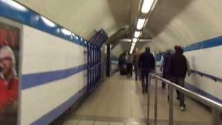 getlinkyoutube.com-Victoria Station to London Heathrow Airport Terminal 3 by London Underground 2013-05-05