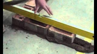 getlinkyoutube.com-Basic Bricklaying Skills How to Build a Brick Corner.wmv