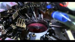 getlinkyoutube.com-Fully Electronic Hosiery Knitting Machine
