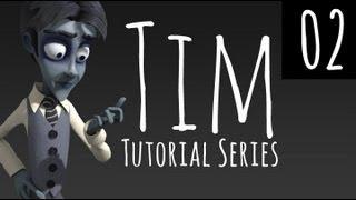 Tim - Pt 02 - Finishing the head