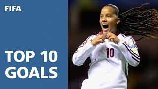 Top 10 Goals: FIFA U-17 Women's World Cup Costa Rica 2014