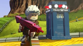 getlinkyoutube.com-LEGO Dimensions - War Doctor (John Hurt) Free Roam Gameplay
