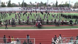 getlinkyoutube.com-Round Rock HS Dragon Band - 2015 Pasadena Bandfest