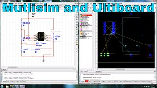 Circuit Design - Multisim and Ultiboard