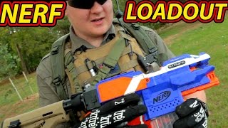 "getlinkyoutube.com-""NERF TACTICOOL 2.0"" - Rob's War/HvZ LOADOUT 2016 