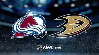 Ducks rally in 3rd to defeat Avalanche, 2-1