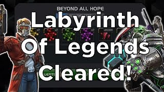 getlinkyoutube.com-Labyrinth Of Legends Cleared! - Marvel Contest Of Champions