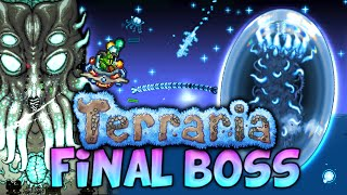 getlinkyoutube.com-KILLING THE FINAL BOSS AND THE AWESOME LUNAR EVENT (Terraria 1.3 - Final boss walkthrough/strategy)
