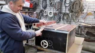 getlinkyoutube.com-Упорная линейка на подшипниках для мини циркулярки\\Thrust bearings line mini circular saw