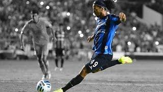 getlinkyoutube.com-Ronaldinho ● Amazing Skills Show ● Querétaro ● 2014-2015 |HD|