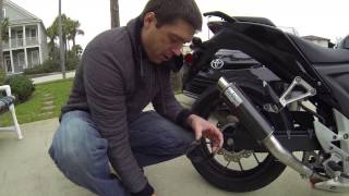 getlinkyoutube.com-LeoVince GP Corsa Exhaust Installation for the CB500F, CBR500R, CB500X