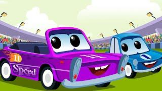 Sport Car Rhymes | Car Racing For Kids | Racing Car Song