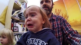 getlinkyoutube.com-Emotional Baby Crying too Cute  ♥♥♥ Sad Baby Cries when other Babies fall! - So cute