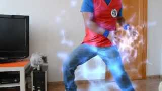 getlinkyoutube.com-Parodia Dragon Ball Z Goku kame hame ha Vida Real