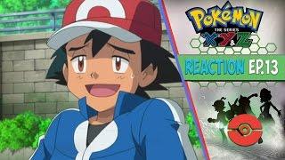 getlinkyoutube.com-Pokemon XYZ Anime Reaction Ep.13 - The Strongest Mega Battle! Ash Vs. Alain!
