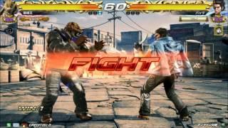 getlinkyoutube.com-9/24 鉄拳7FR 破壊王 vs バッツ 【エンパラ】