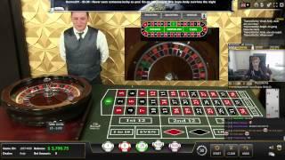 getlinkyoutube.com-Live Casino - Dealer almost dying