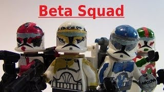 getlinkyoutube.com-LEGO Star Wars BETA SQUAD Custom Showcase!!