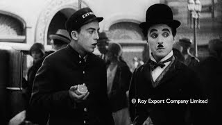 Charlie Chaplin - Deleted scene from City Lights width=