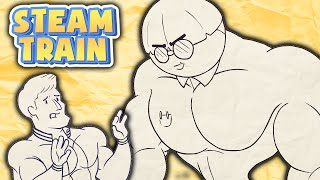 getlinkyoutube.com-Steam Train Animated - Dinkles the Buff Nerd - by Rubberninja