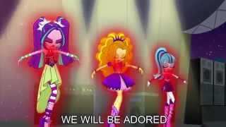 getlinkyoutube.com-Welcome to the Show [With Lyrics] - My Little Pony Equestria Girls Rainbow Rocks Song