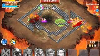 getlinkyoutube.com-Castle Clash - Elite dungeons areas 3 & 4