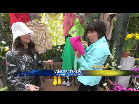 News 12 Fashionable Rainwear Segment
