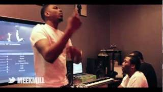 Meek Mill & Los - Freestyle En Studio