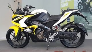 Video Profile bajaj Pulsar RS 200 Race Sport