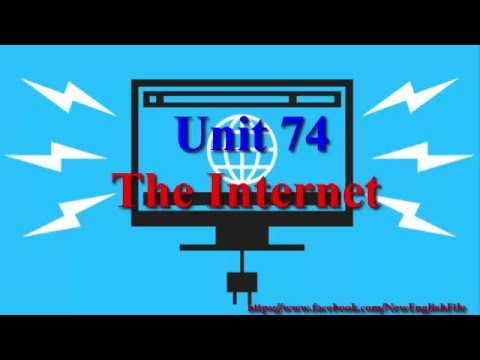 Unit 74 The Internet | Learn English via Listening Level 4