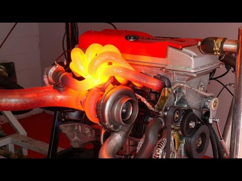 Ford 1163hp turbo six engine dyno