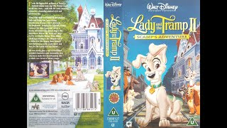 Lady And The Tramp 2   Scamp's Adventure (2001, UK VHS)