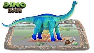 getlinkyoutube.com-DINO DAN : DINO DUELS # 4 - Apatosaurus VS. Snail