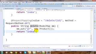 getlinkyoutube.com-CRUD Spring MVC Framework and Hibernate