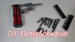 getlinkyoutube.com-DIY - How To Make a Electric Screwdriver