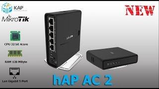 New! hAP AC 2 (RBD52G-5HacD2HnD-TC)