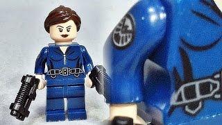 getlinkyoutube.com-decool 어벤져스 마리아 힐 요원 레고 짝퉁 미니피겨 Lego knockoff avengers agent maria hill
