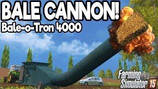 getlinkyoutube.com-BALE CANNON! - Farming Simulator 2015 - Funny Fun Mod
