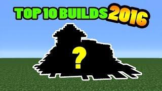 getlinkyoutube.com-Minecraft: Top 10 Builds of 2016!