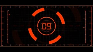 COUNTDOWN TIMER 30 sec ( v 568 ) 30 to 0 timer in 8k with sound effects 8K