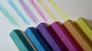 getlinkyoutube.com-Manualidad como hacer TIZAS caseras para pintar al SUELO tutorial para Niños
