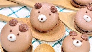 getlinkyoutube.com-มาการองหมีน้อย Bear Macaron