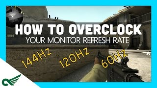 getlinkyoutube.com-How to overclock your monitor (Increase your refresh rate! Hz) GOOD FOR GAMING! FREE!