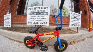 getlinkyoutube.com-Bounce Scream Mini BMX Unboxing @ Harvester Bikes TORONTO, CANADA